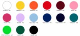 Colores mate vinilo textil